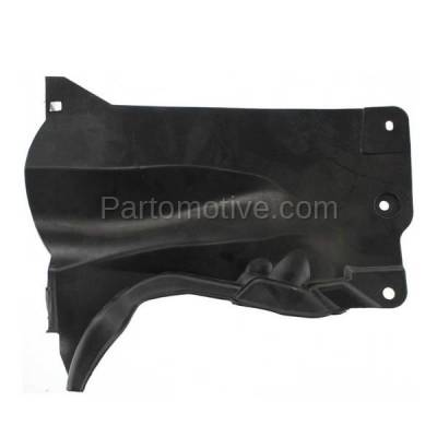 Aftermarket Replacement - ESS-1428 04-09 Mazda3, 06-10 Mazda5 Rear Engine Splash Shield Under Cover Passenger Side