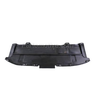 Aftermarket Replacement - ESS-1413 2013-2016 Mazda CX-5 (Sport Utility 4-Door) (2.0 & 2.5 Liter) Front Engine Under Cover Splash Shield Undercar Guard Air Deflector Plastic