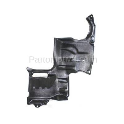 Aftermarket Replacement - ESS-1420L 02-06 MPV Engine Splash Shield Under Cover Left Driver Side MA1250108 LD4756341