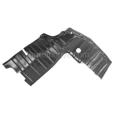 Aftermarket Replacement - ESS-1311R Engine Splash Shield Under Cover Undercar Guard For 96-00 Elantra Passenger Side