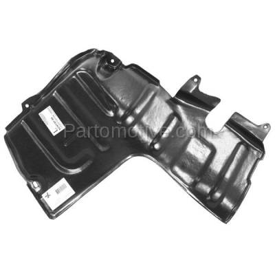 Aftermarket Replacement - ESS-1320L Front Engine Splash Shield Under Cover For 95-99 Accent LH Driver Side HY1228102