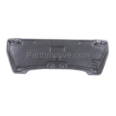 Aftermarket Replacement - ESS-1325 Rear Engine Splash Shield Under Cover For 11-13 M-37/56 AWD IN1228129 758811MD0A