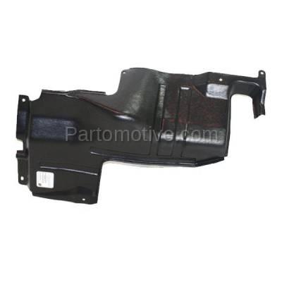 Aftermarket Replacement - ESS-1366L Engine Splash Shield Under Cover For 98-01 Sephia 00-04 Spectra Left Driver Side