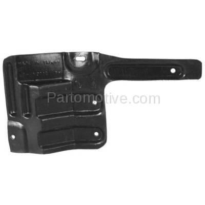 Aftermarket Replacement - ESS-1300R Engine Splash Shield Under Cover Fits 01-06 Elantra/03-08 Tiburon Passenger Side