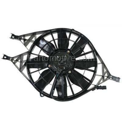 TYC - FMA-1102TY TYC 00-02 Durango 97-04 Dakota Radiator AC A/C Condenser Cooling Fan Motor Assy