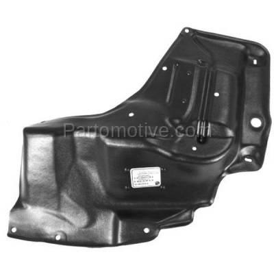 Aftermarket Replacement - ESS-1181L 03-08 Vibe Manual Trans. Front Engine Splash Shield Under Cover Left Driver Side