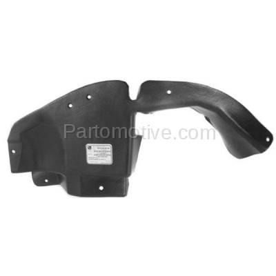 Aftermarket Replacement - ESS-1171L 04-07 Vue Front Engine Splash Shield Under Cover Guard Left Driver Side 22678675