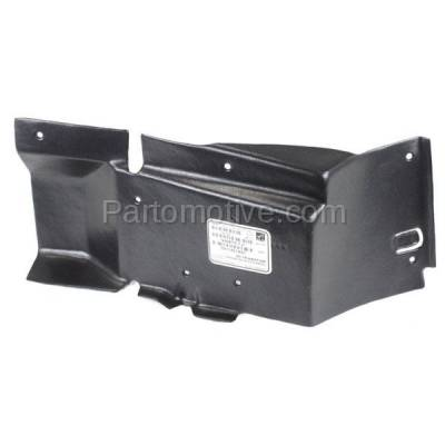 Aftermarket Replacement - ESS-1182L 97-05 Venture Van Front Engine Splash Shield Under Cover LH Driver Side 10238389