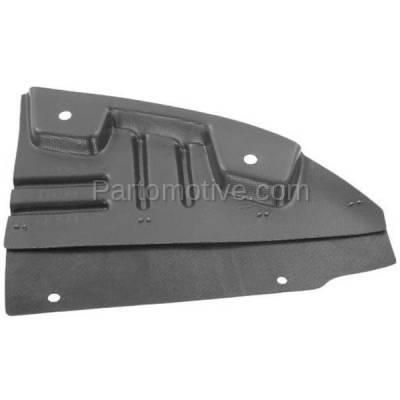 Aftermarket Replacement - ESS-1187L 11-14 Sierra 2500/3500 Engine Splash Shield Under Cover Fender Liner Driver Side