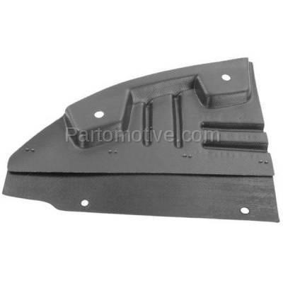 Aftermarket Replacement - ESS-1187R 11-14 Sierra 2500/3500 Engine Splash Shield Under Cover Fender Liner Right Side