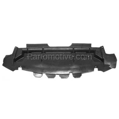 Aftermarket Replacement - ESS-1161 07-12 MKZ 3.5L V6 Front Engine Splash Shield Under Cover/Air Deflector AH6Z8327A