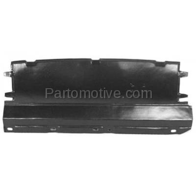 Aftermarket Replacement - ESS-1165 00-04 Focus Front Engine Splash Shield Under Cover Undercar FO1228100 YS4Z8310HB