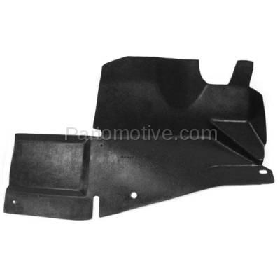 Aftermarket Replacement - ESS-1232R 00-11 Chevy Impala Engine Splash Shield Under Cover RH Passenger Side 10349808