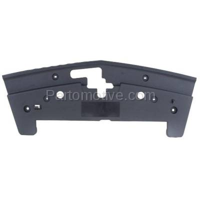 Aftermarket Replacement - ESS-1163 05-09 Mustang Front Upper Grille Mounting Panel Shield FO1223107 5R3Z8C291AAA