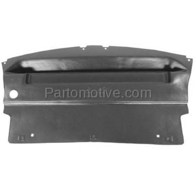Aftermarket Replacement - ESS-1164 05-09 Mustang Engine Splash Shield Under Cover Undercar FO1228101 5R3Z17626BA