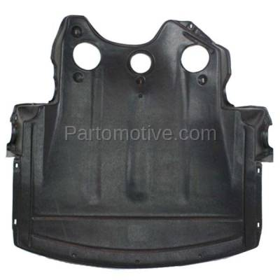 Aftermarket Replacement - ESS-1078 NEW 00-06 3-Series Coupe/Wagon Front Engine Splash Shield Under Cover BM1228112
