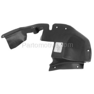 Aftermarket Replacement - ESS-1171R 04-07 Vue Front Engine Splash Shield Under Cover Right Passenger Side 22678676