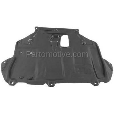 Aftermarket Replacement - ESS-1126 2014-2016 Ford Transit Connect (XL, XLT, Titanium) Van 4-Door (1.6L) Rear Center Engine Under Cover Splash Shield Undercar Guard Plastic