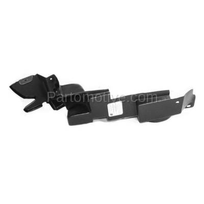 Aftermarket Replacement - ESS-1205L 04-08 Chevy Malibu Front Outer Engine Splash Shield Under Cover Left Driver Side