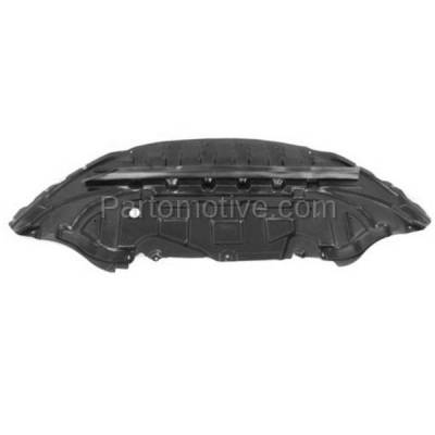 Aftermarket Replacement - ESS-1131 13-14 Mustang Front Engine Splash Shield Under Cover/Stone Deflector FO1228130
