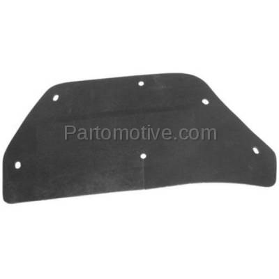 Aftermarket Replacement - ESS-1144L 03-11 Crown Vic Engine Splash Shield Under Cover LH Left Driver Side 3W7Z16240BA