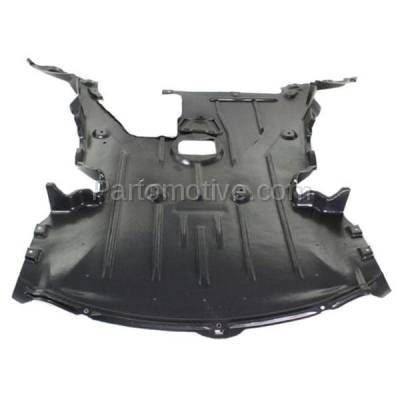 Aftermarket Replacement - ESS-1064 08-12 135i 2-Door Convertible Front Engine Splash Shield Under Cover BM1228136