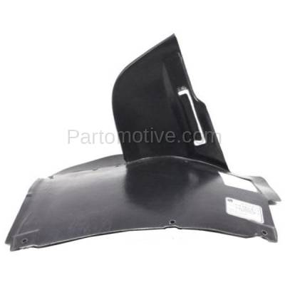 Aftermarket Replacement - ESS-1084L 01-03 5-Series Lower Engine Splash Shield Under Cover LH Driver Side 51717008689
