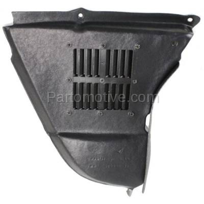 Aftermarket Replacement - ESS-1085R 04-10 5-Series w/o M-Package Engine Splash Shield Under Cover RH Passenger Side