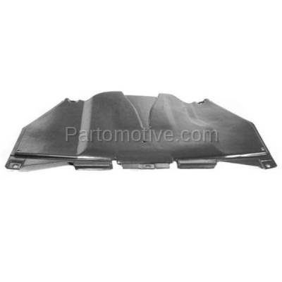 Aftermarket Replacement - ESS-1028 2001-01 Allroad Rear Engine Splash Shield Under Cover w/ Auto Trans. 4Z7863822B