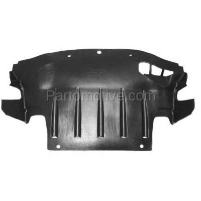 Aftermarket Replacement - ESS-1101 11-14 300 AWD Front Engine Splash Shield Under Cover w/o Insulation 68083327AC
