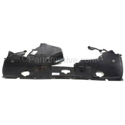 Aftermarket Replacement - ESS-1004 09-10 RL Engine Splash Shield Under Cover Undercar Plastic AC1228109 74111SJAA30