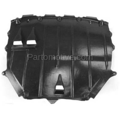 Aftermarket Replacement - ESS-1020 08-15 TT Quattro Engine Splash Shield Under Cover Undercar AU1228116 8J8825237A