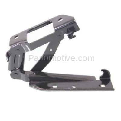 Aftermarket Replacement - HDH-1060R 2010-2015 Chevrolet/Chevy Camaro (LS, 1LT, LT, 1SS, 2SS, SS, Z/28, ZL1) (Convertible & Coupe) Front Hood Hinge Bracket Steel Right Passenger Side