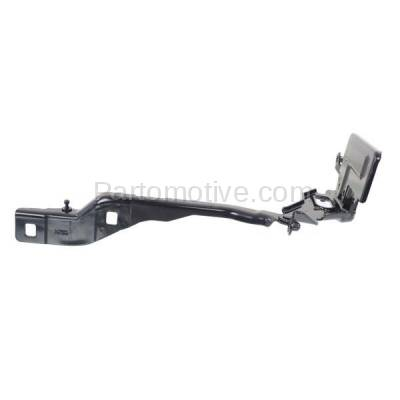 Aftermarket Replacement - HDH-1026R 2015-2018 Ford F-150 Pickup Truck (Standard, Extended, Crew Cab) Front Hood Hinge Bracket Steel Right Passenger Side
