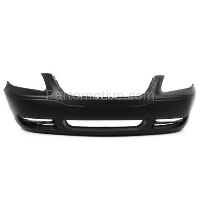 Aftermarket Replacement - BUC-1359FC CAPA 05-07 Town&Country Front Bumper Cover Assy w/o Fog Lamp CH1000432 5139119AA