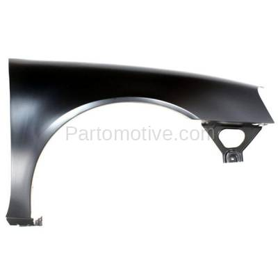 Aftermarket Replacement - FDR-1369RC CAPA 2004-2008 Pontiac Grand Prix (Base, GT, GT1, GT2, GTP) Front Fender Quarter Panel (without Molding Holes) Primed Right Passenger Side