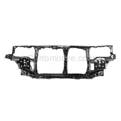 Aftermarket Replacement - RSP-1344 1994-1997 Honda Accord (Coupe & Sedan & Wagon) (2.2 Liter Engine) Front Center Radiator Support Core Assembly Primed Steel