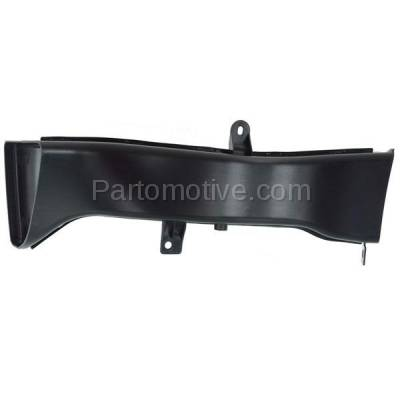 Aftermarket Replacement - RSP-1043L 14-18 4-Series Front Lower Radiator Support Air Intake Duct Insert Plastic Left Driver Side