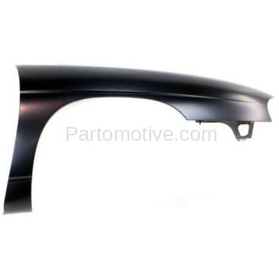 Aftermarket Replacement - FDR-1448R 1995-1999 Chevrolet Monte Carlo & 1995-2001 Lumina (3.1L & 3.4L & 3.8L V6 Engine) Front Fender Quarter Panel Steel Right Passenger Side