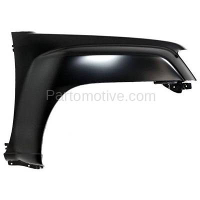 Aftermarket Replacement - FDR-1833R 2005-2015 Nissan Xterra (Off-Road, PRO-4X, S, SE, SV, X) 2.5L/4.0L Front Fender Quarter Panel Primed Steel Right Passenger Side