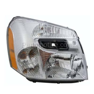 Aftermarket Auto Parts - HLT-1261RC CAPA 05-09 Chevy Equinox Headlight Headlamp Head Light Lamp Passenger Side DOT