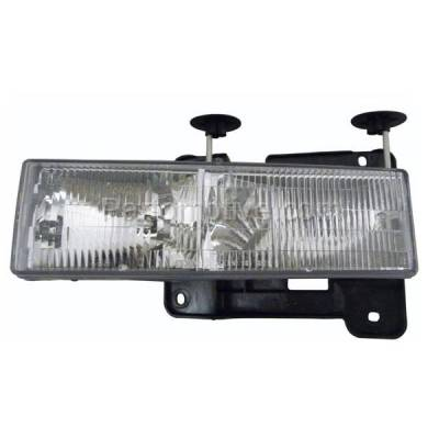 Aftermarket Auto Parts - HLT-1044LC CAPA C/K Pickup Truck Headlight Headlamp Composite Head Light Lamp Driver Side
