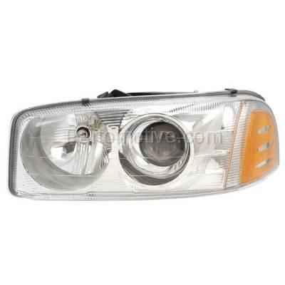 Aftermarket Auto Parts - HLT-1333LC CAPA Yukon XL Sierra Denali Headlight Headlamp Front Head Light Lamp Driver Side