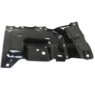 Aftermarket Replacement - BBK-1138R 2015-2017 Ford F150 Pickup Truck (Models with Side Bumper Cover) Front Bumper Mounting Brace Bracket Plate Steel Right Passenger Side