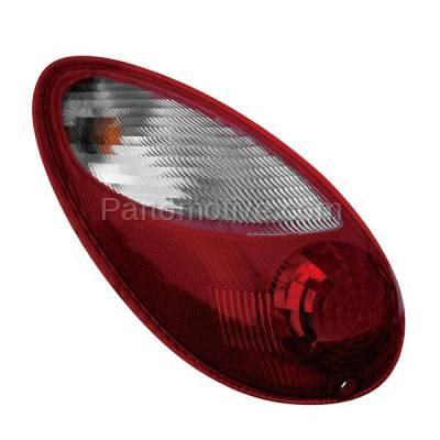 Aftermarket Auto Parts - TLT-1291LC CAPA 06-10 PT Cruiser Taillight Taillamp Rear Brake Light Lamp Driver Side LH