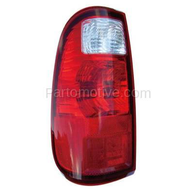 Aftermarket Auto Parts - TLT-1349LC CAPA 08-13 F-Series SuperDuty Truck Taillight Taillamp Light Lamp Driver Side LH