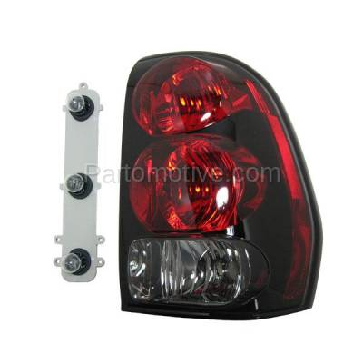 Aftermarket Auto Parts - TLT-1041RC CAPA 02-09 Trailblazer Taillight Taillamp Light Lamp W/Circuit Board Passenger