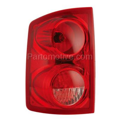 Aftermarket Auto Parts - TLT-1153LC CAPA 05-11 Dakota Truck Taillight Taillamp Rear Brake Light Lamp Driver Side LH