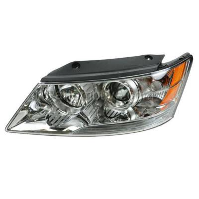 Aftermarket Auto Parts - HLT-1505LC CAPA Headlight Headlamp Front Head Light Lamp Driver Side DOT L For 09-10 Sonata