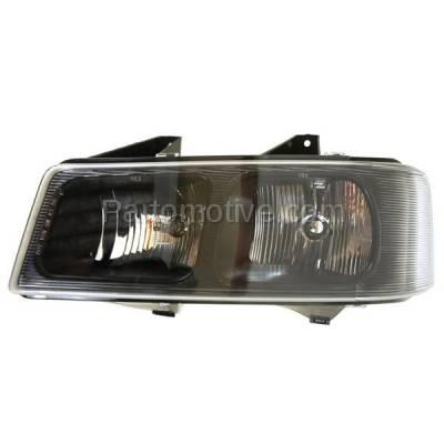 Aftermarket Auto Parts - HLT-1195LC CAPA 03-13 Chevy Express Van Headlight Headllamp Head Light Lamp Driver Side DOT